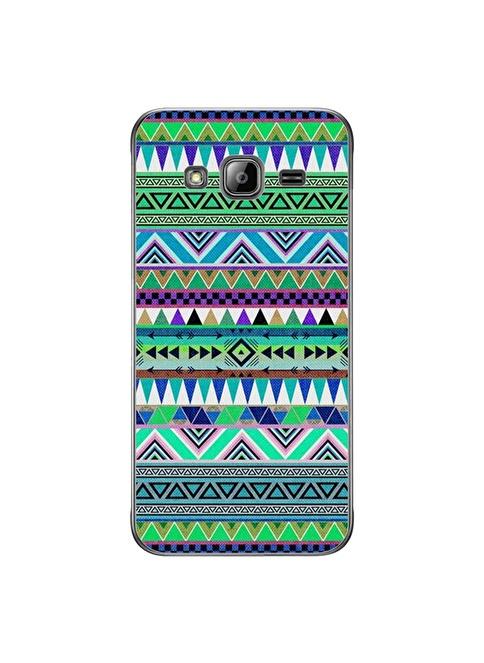 People's Cover Samsung J3 Kabartmalı Telefon Kılıfı Renkli